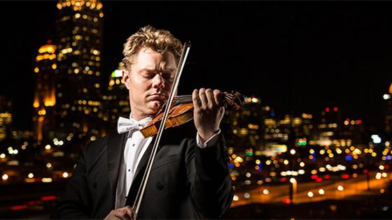 David Coucheron. Photo courtesy the Atlanta Symphony.