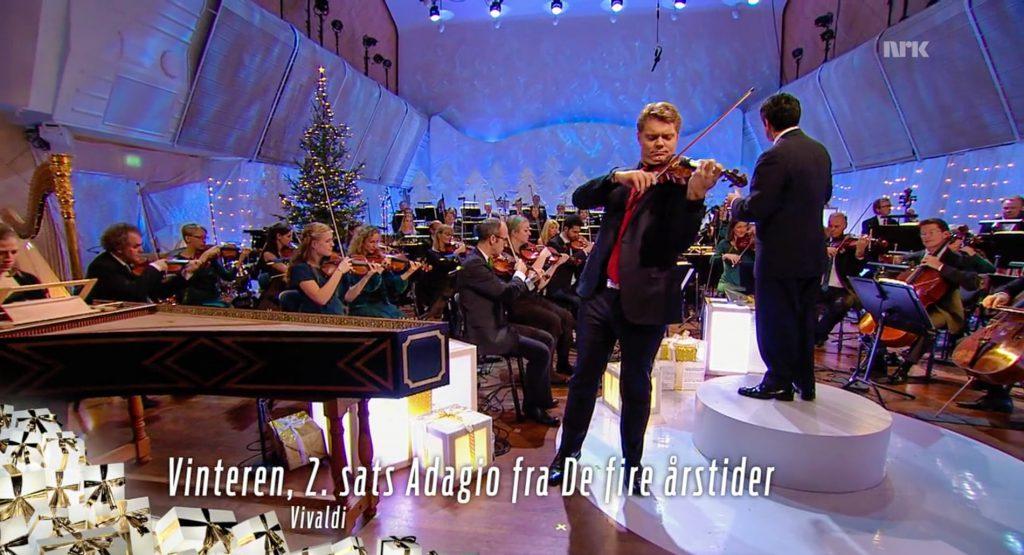 Vinteren, 2. sats Adagio fra De fire årstider med David Courcheron og Kork